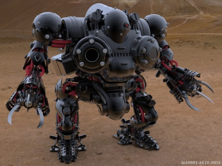 warbot desert